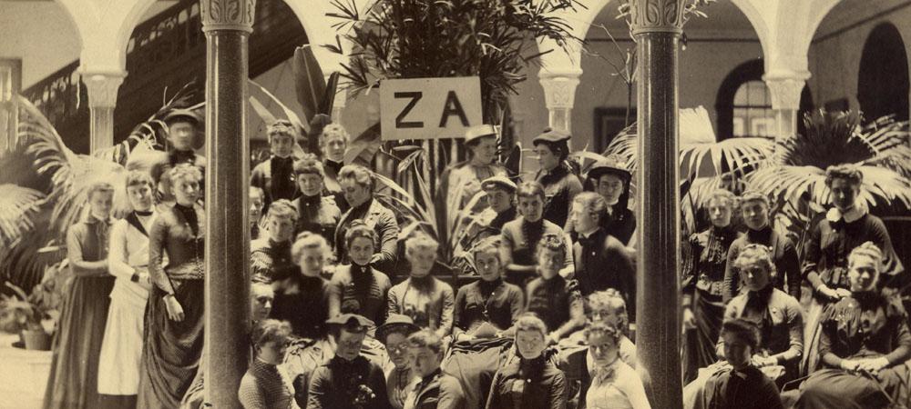 Zeta Alpha Society in 1889
