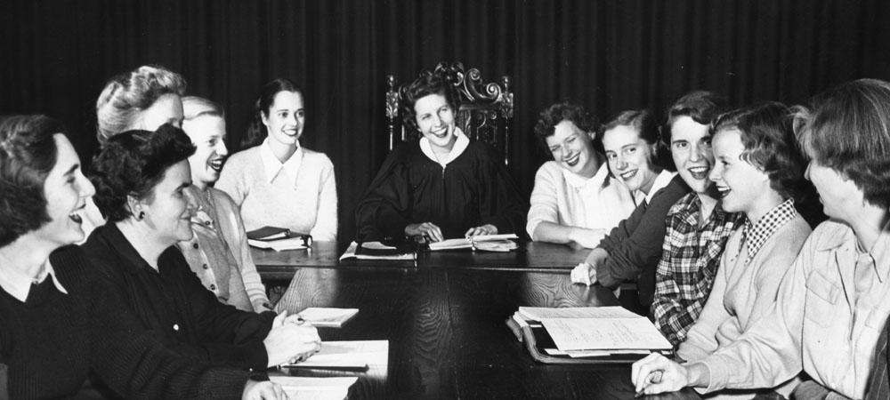 Senate Meeting, 1949