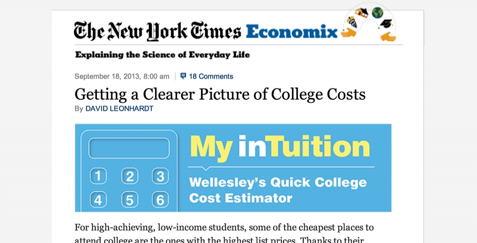 My Intuition in The New York Times