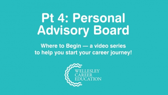 Personal Advisory Board (Where to Begin, Part 4)