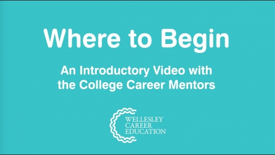 Where to Begin (An Overview with the College Career Mentors)