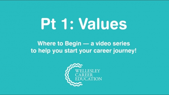 Values (Where to Begin, Part 1)