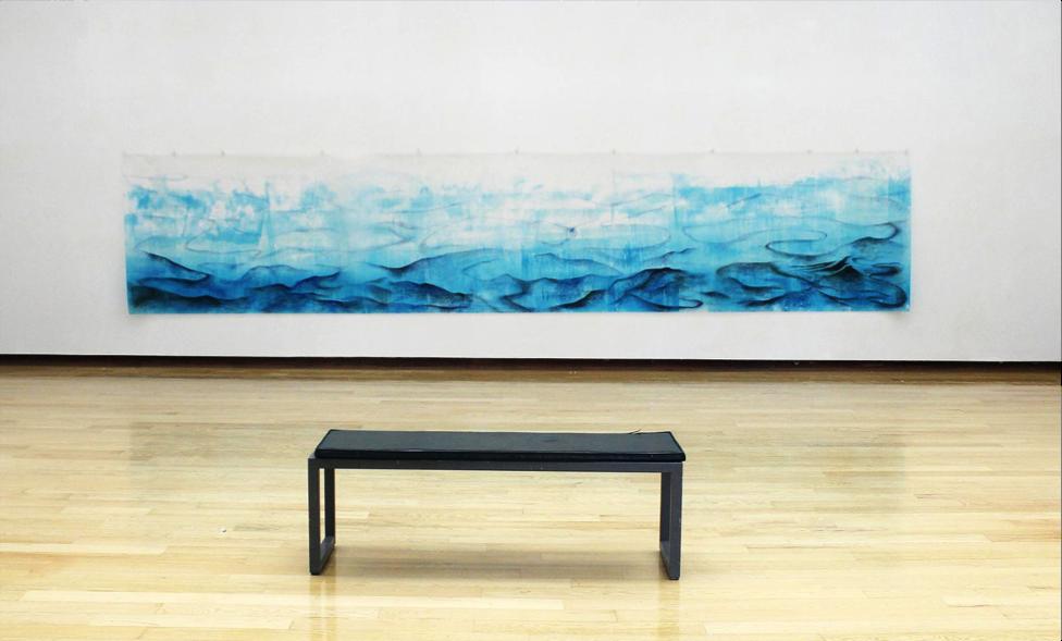Deep Waters (2) on display