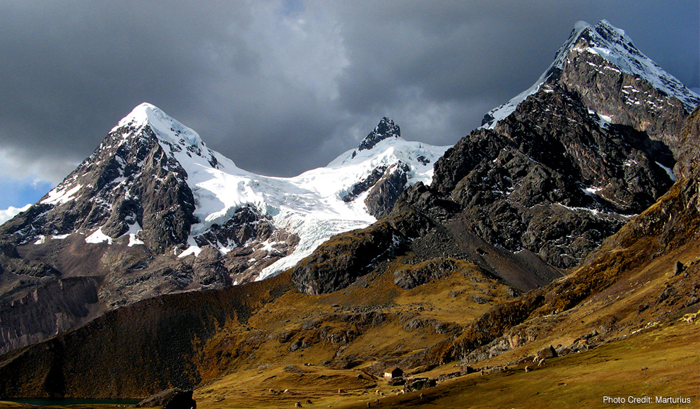 Photo of the Andes Mountains
