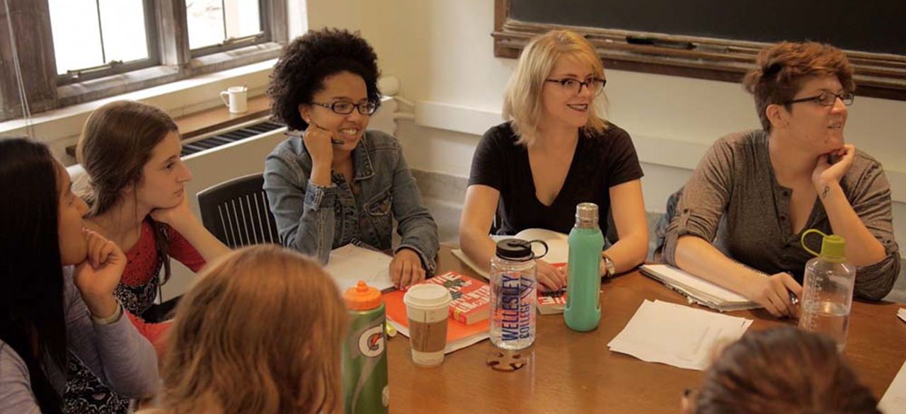Students in Angela Carpenter's 'Invented Languages' Course