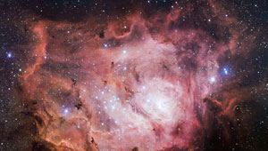 Wellesley research supports idea early building blocks of life may be produced in space.