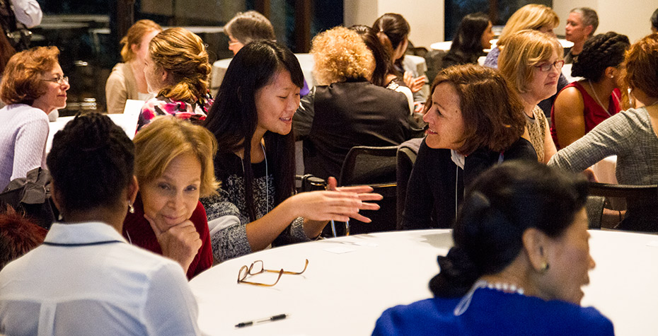 BLC speed-networking session