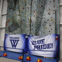 Wellesley Climbing Wall