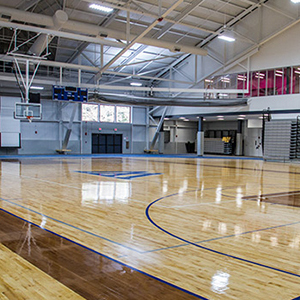 Fieldhouse interior