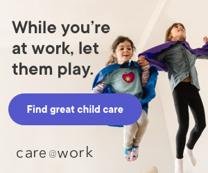 While you're at work, let them play. Find great child care