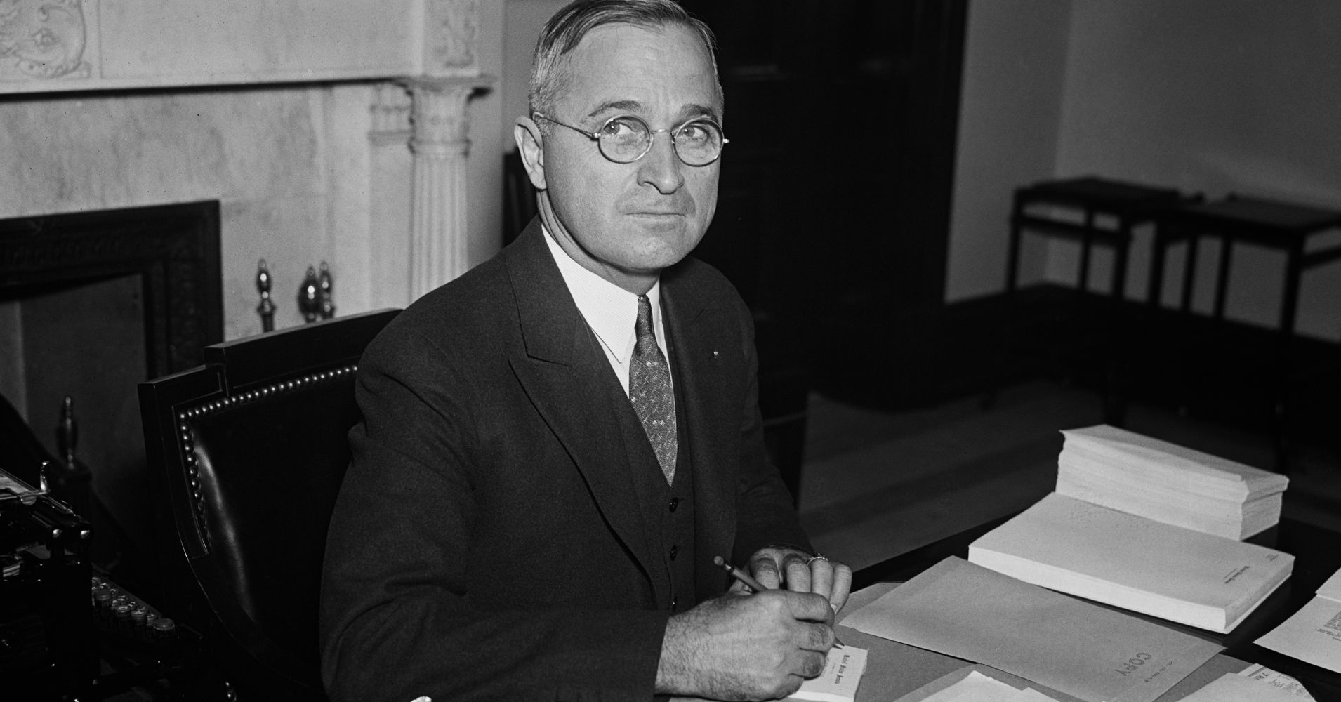 Politician with glasses