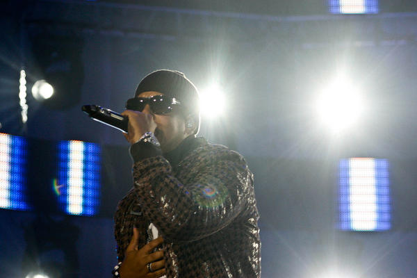 Musician Daddy Yankee performing