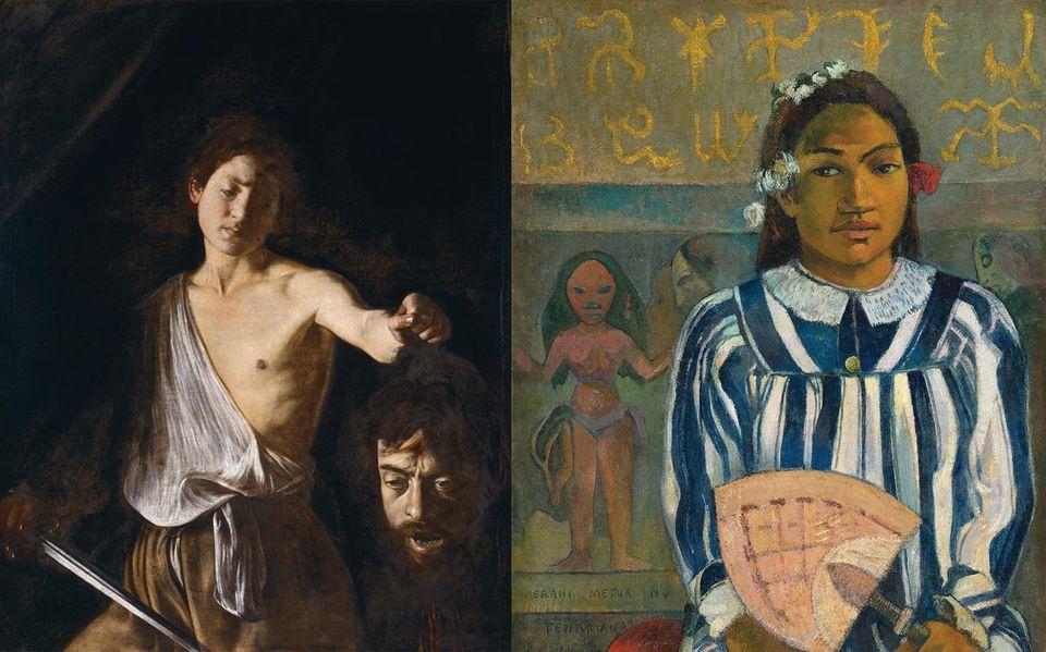 Caravaggio and Gauguin