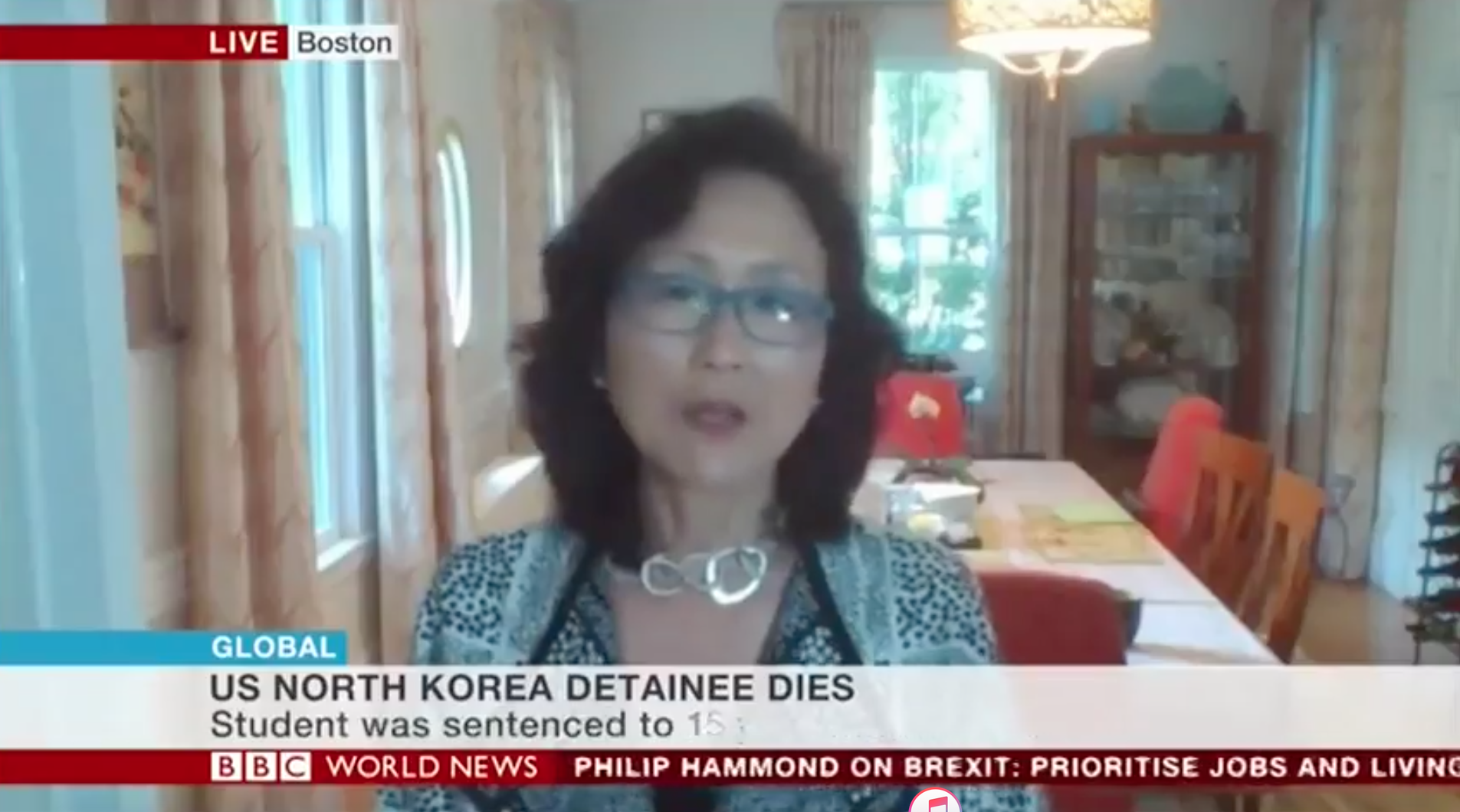 Katharine H.S. Moon interviewed by the BBC