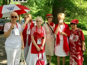 Dr. Wan Lim '68 (far right) at her 50th reunion