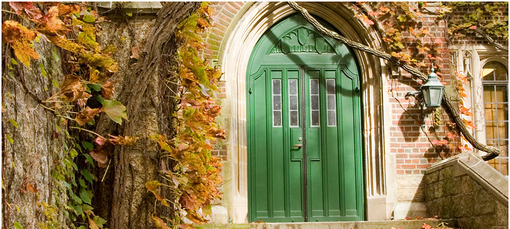 Green Hall doors