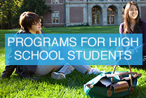 PROGRAMS FOR HIGH SCHOOL STUDENTS
