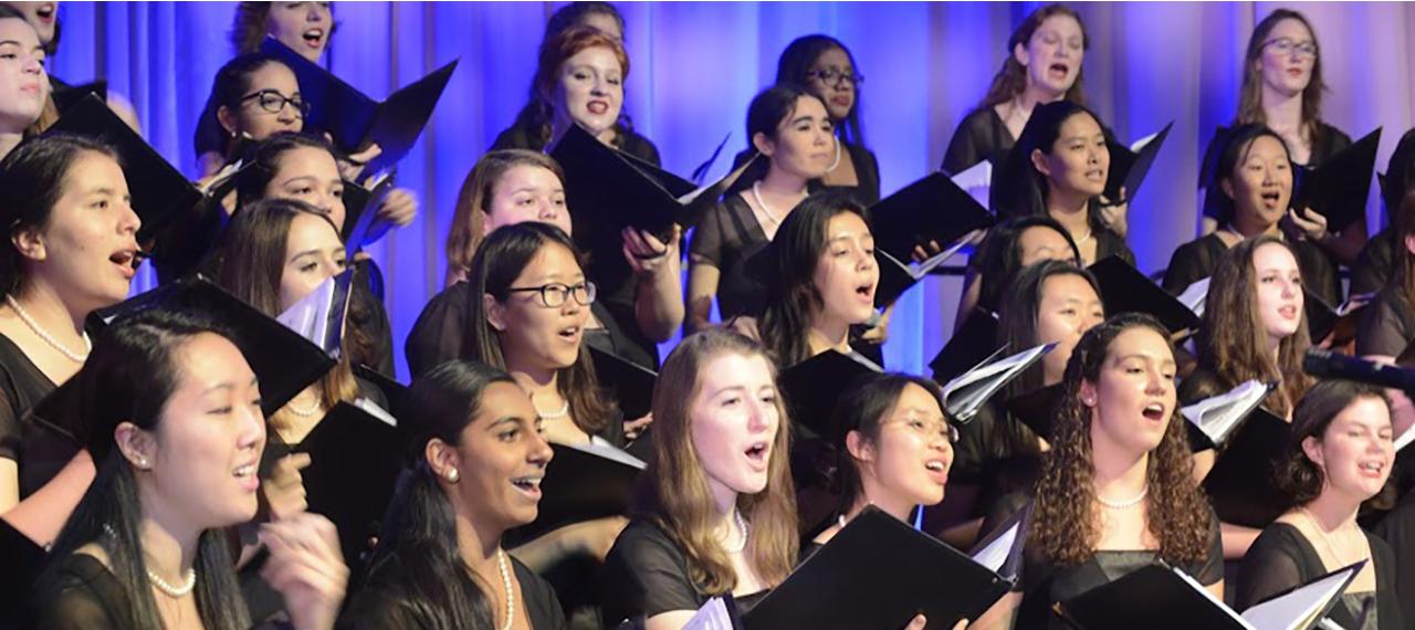 Choir in Performance