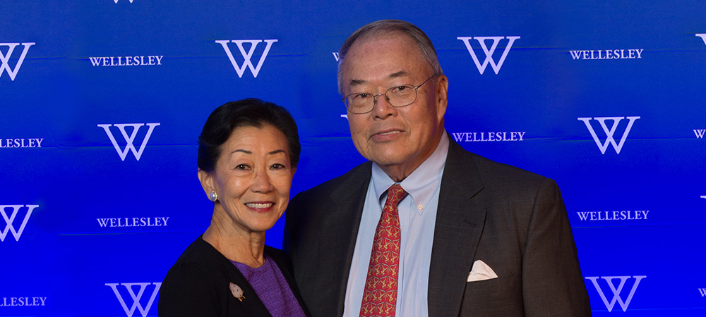 Lulu Chow Wang '66 and Anthony Wang