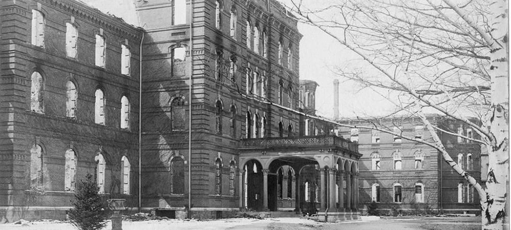 College Hall entrance