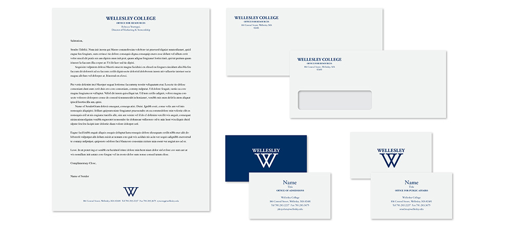 examples of Wellesley stationary