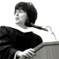 Nora Ephron speaking at 1996 commencement