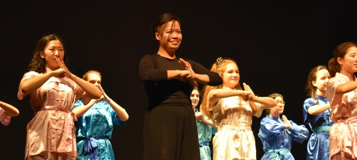 Slater Culture Show Wushu
