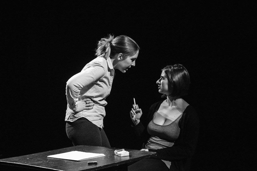 Still from Fall 2015 24-Hour Theatre Festival