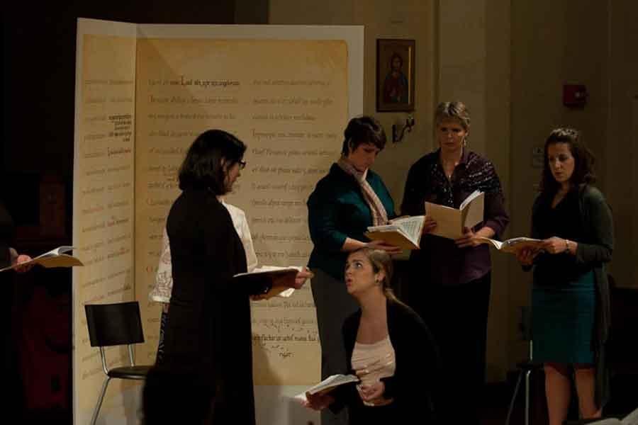 Cappella Clausura performing