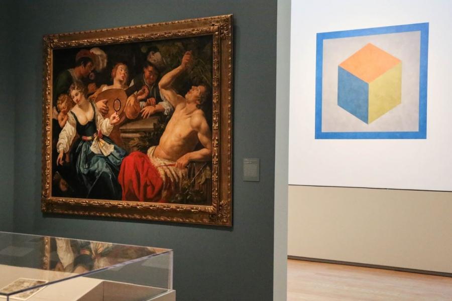 Image of artwork in the Davis museum