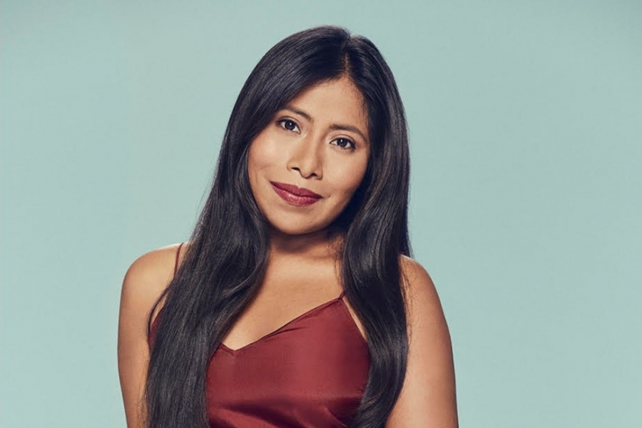 portrait of actor Yalitza Aparicio