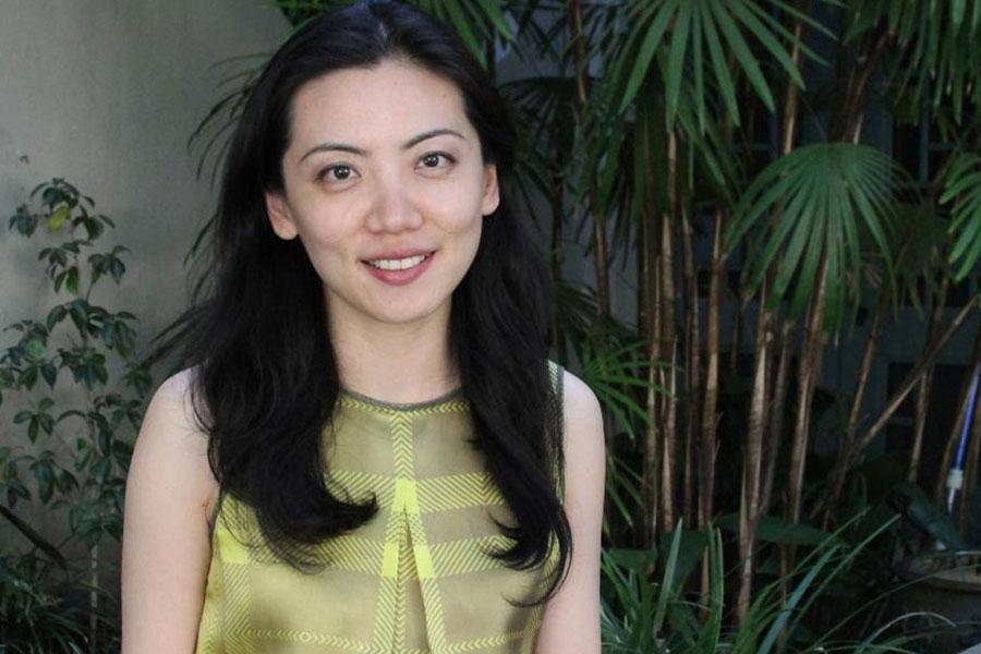 image of Christina Yu Yu smiling at the camera