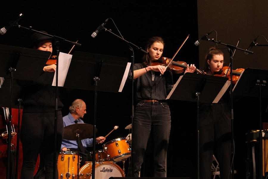 BlueJazz Strings and Combos Concert