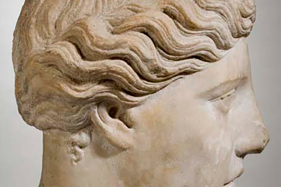 Greek Head of a Goddess
