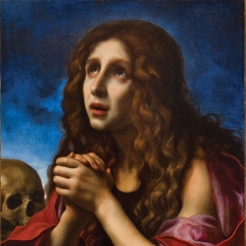Carlo Dolci, The Penitent Magdalene, ca. 1670, oil on canvas; Davis Museum 1958.19