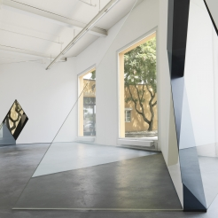 Image from one of Sarah Oppenheimer's exhibitions