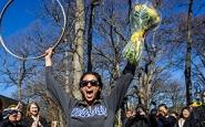 Sophia Garcia '15 wins 120th hooprolling competition