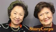 Shirley Young '55 and Marylin Chou '55