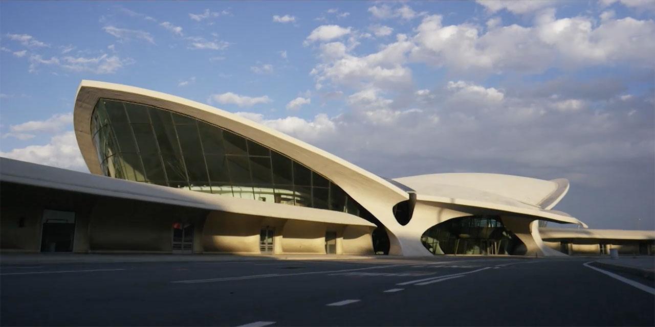 TWA Flight Center designed by Eero Saarinen