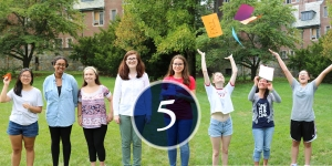 students count down: 5