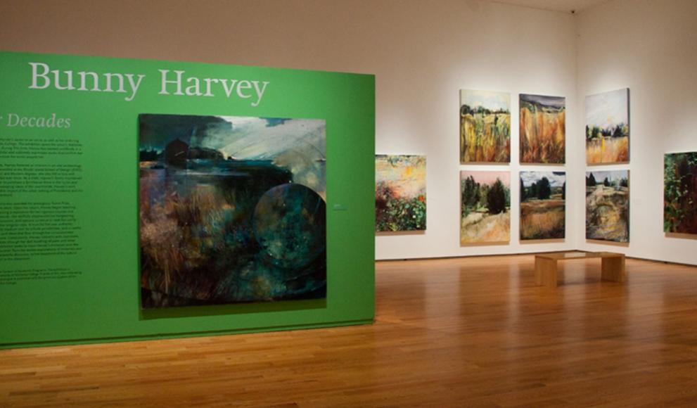 "Art Exhibit, ""Bunny Harvey: Four Decades"" displayed in the Davis Museum Gallery"