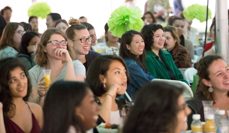 Senior Class Luncheon Marks First Official Event for New Alums