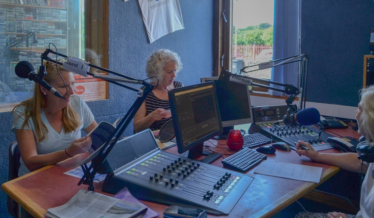 Two Wellesley faculty are interviewed in an Irish radio station.