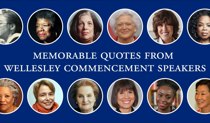 Inspiring Words from 12 Wellesley Commencement Speakers
