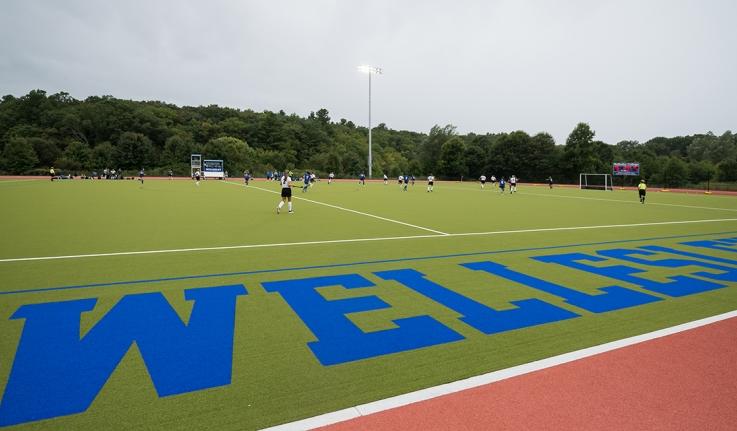 The new Butler Stadium field