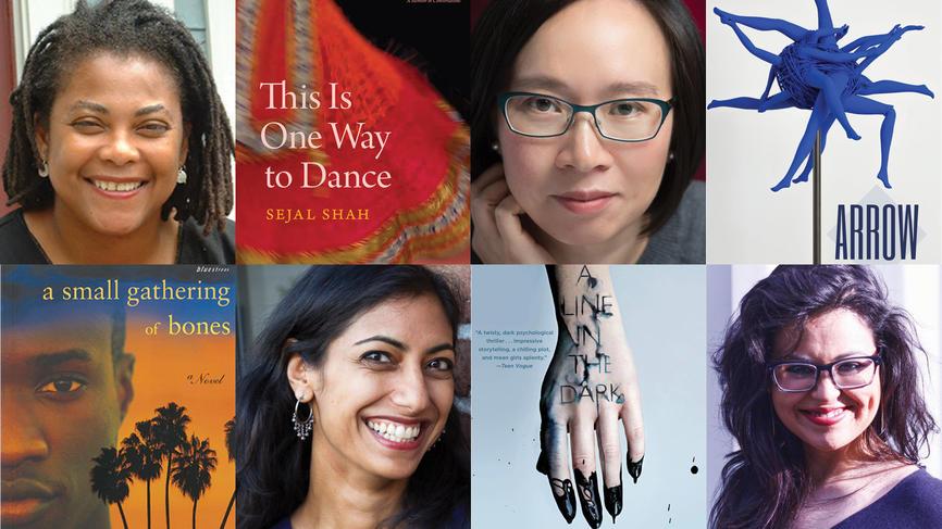 Patricia Powell '88, Sejal Shah '94, Malinda Lo '96, Sumita Chakraborty '08