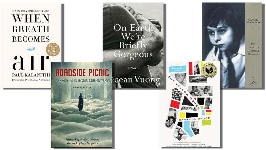 collage of book covers mentioned