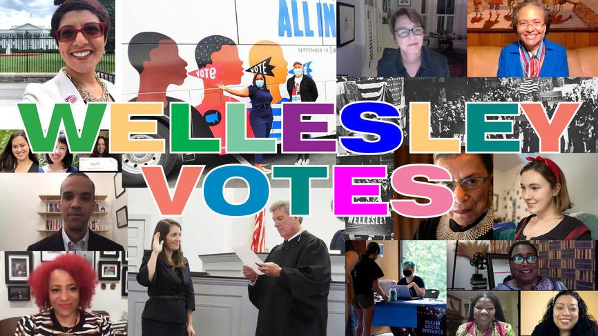 wellesley votes collage