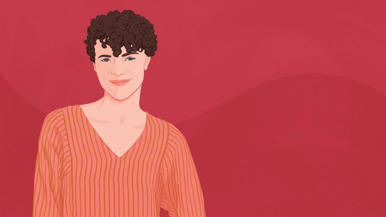 Illustration of Becca Darling