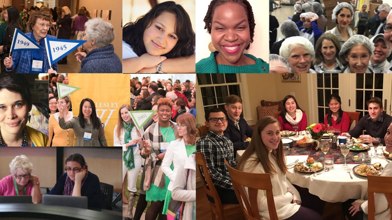 Wellesley honors the way its many alumnae contribute